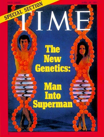 TIME Magazine Cover: The New Genetics -- Apr. 19, 1971