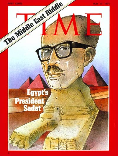 TIME Magazine Cover: Anwar Sadat -- May 17, 1971