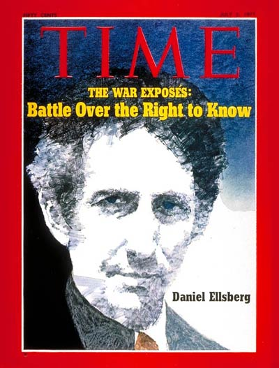 TIME Magazine Cover: Daniel Ellsberg -- July 5, 1971