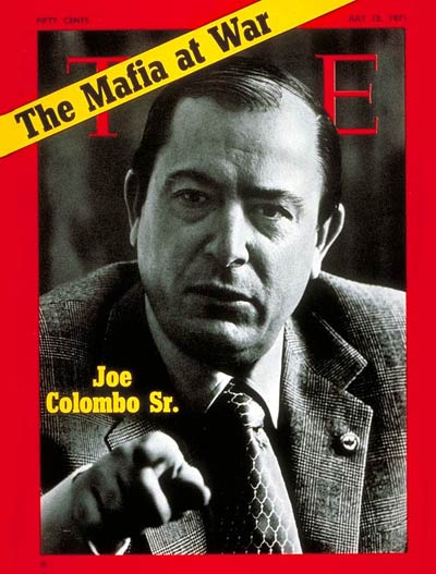 TIME Magazine Cover: Joe Colombo Sr. -- July 12, 1971