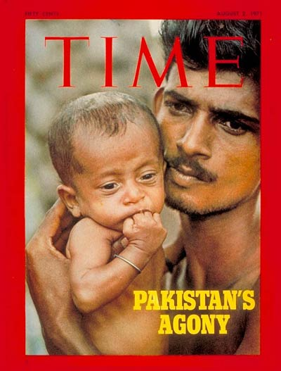 TIME Magazine Cover: Pakistan Refugees -- Aug. 2, 1971
