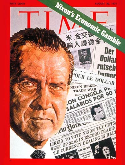 TIME Magazine Cover: Richard Nixon -- Aug. 30, 1971