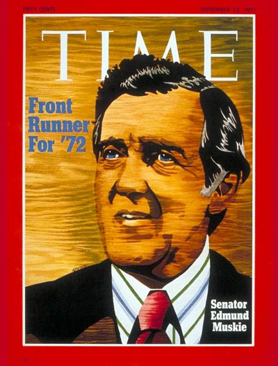 TIME Magazine Cover: Sen. Edmund Muskie -- Sep. 13, 1971