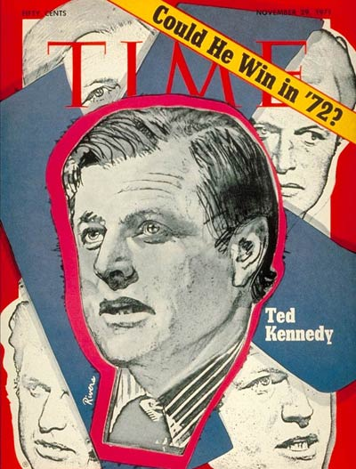 TIME Magazine Cover: Sen. Edward Kennedy -- Nov. 29, 1971