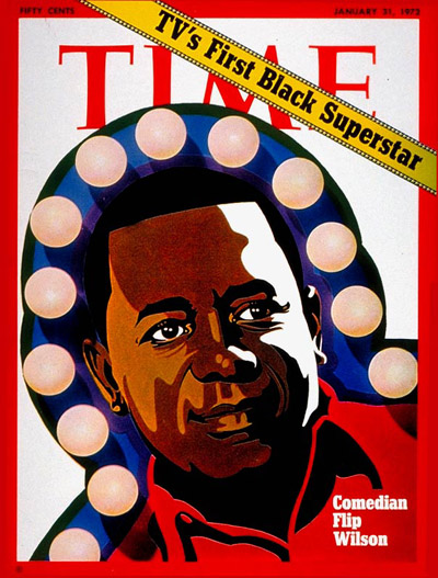 TIME Magazine Cover: Flip Wilson -- Jan. 31, 1972