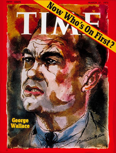TIME Magazine Cover: Gov. George Wallace -- Mar. 27, 1972