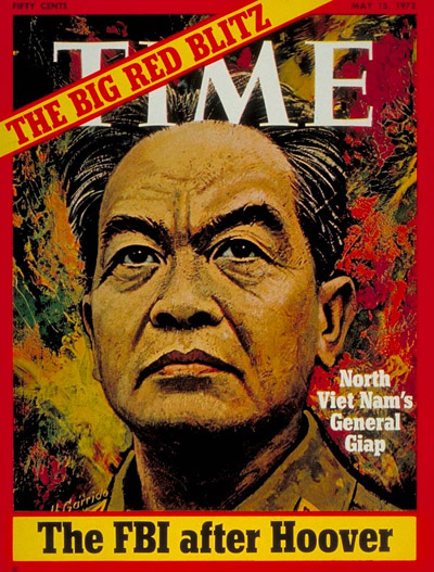 TIME Magazine Cover: General Vo Nguyen Giap -- May 15, 1972