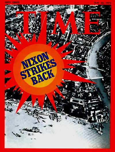 TIME Magazine Cover: Haiphong Harbor -- May 22, 1972