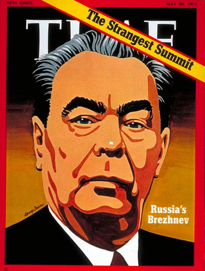 TIME Magazine Cover: Leonid Brezhnev -- May 29, 1972