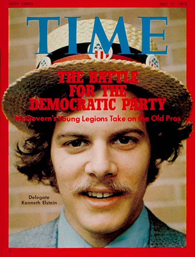 TIME Magazine Cover: Kenneth Elstein -- July 17, 1972