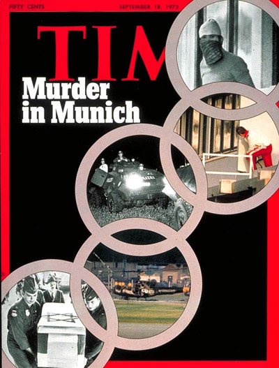 TIME Magazine Cover: Murder at the Olympics -- Sep. 18, 1972