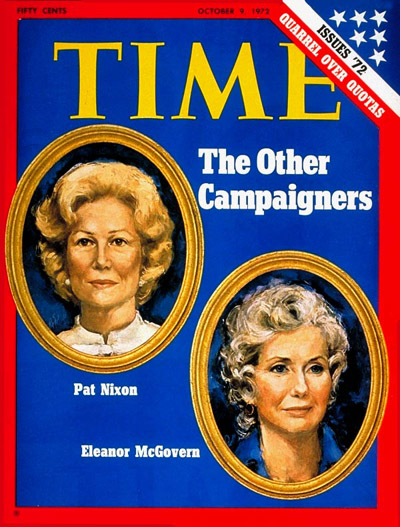 The Other Campaigners: Pat Nixon and Eleanor McGovern.