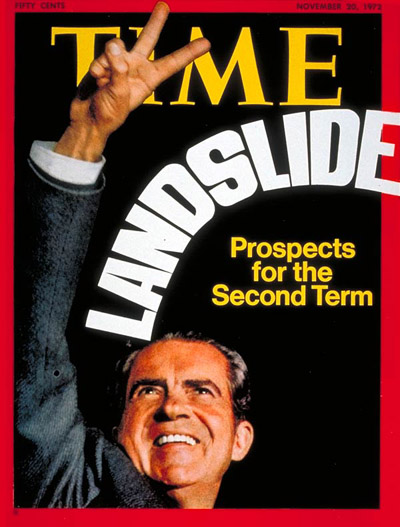 TIME Magazine Cover: Richard Nixon -- Nov. 20, 1972