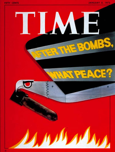 TIME Magazine Cover: The Bombing Question -- Jan. 8, 1973
