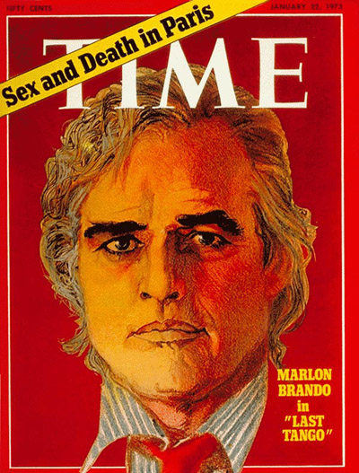 TIME Magazine Cover: Marlon Brando -- Jan. 22, 1973