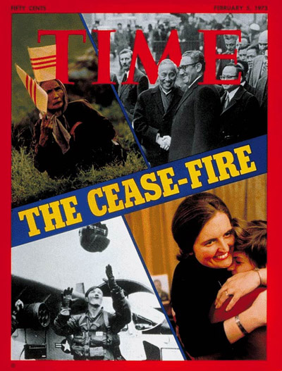 TIME Magazine Cover: Vietnam Cease-Fire -- Feb. 5, 1973