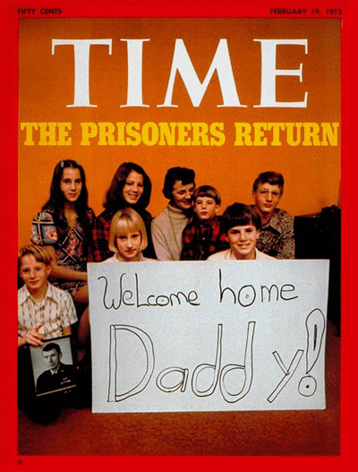 TIME Magazine Cover: P.O.W. Families -- Feb. 19, 1973