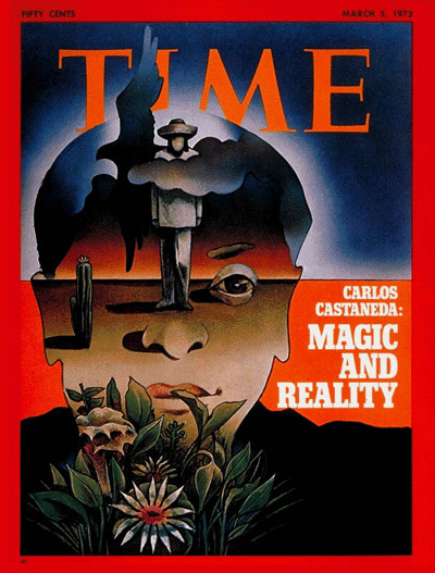 TIME Magazine Cover: Carlos Castaneda -- Mar. 5, 1973