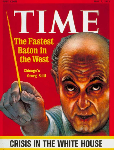 TIME Magazine Cover: Georg Solti -- May 7, 1973