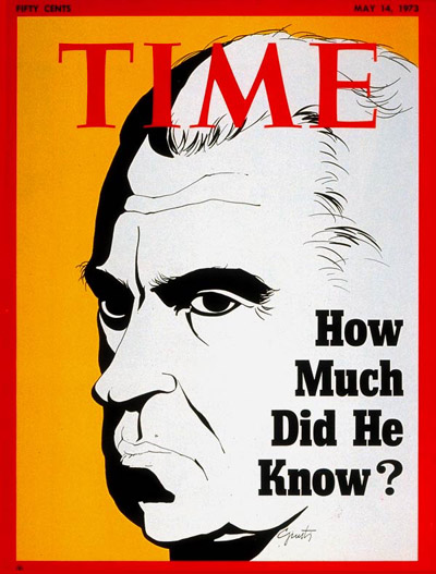 TIME Magazine Cover: President Nixon -- May 14, 1973