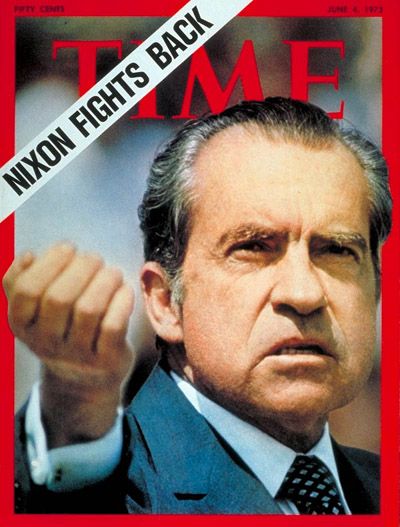 TIME Magazine Cover: Richard Nixon -- June 4, 1973