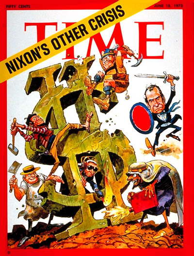 TIME Magazine Cover: The U.S. Economy -- June 18, 1973