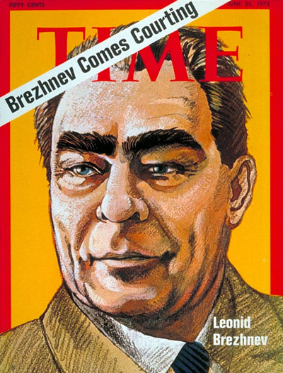 TIME Magazine Cover: Leonid Brezhnev -- June 25, 1973