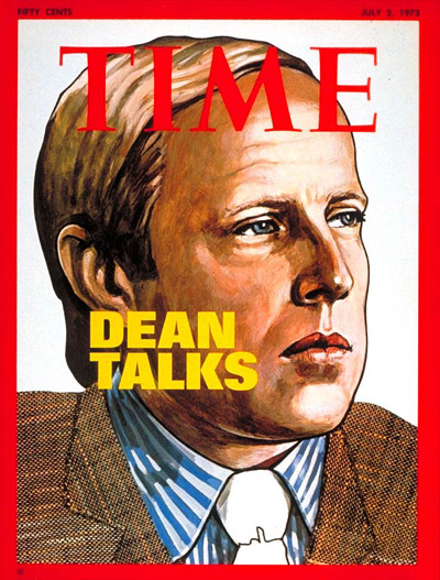 TIME Magazine Cover: John Dean -- July 2, 1973