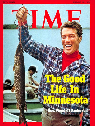TIME Magazine Cover: Governor Wendell Anderson -- Aug. 13, 1973