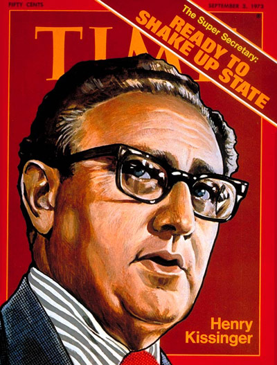TIME Magazine Cover: Henry Kissinger -- Sep. 3, 1973