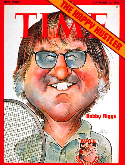 TIME Magazine Cover: Bobby Riggs -- Sep. 10, 1973