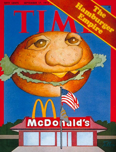 TIME Magazine Cover: Hamburger Empire -- Sep. 17, 1973