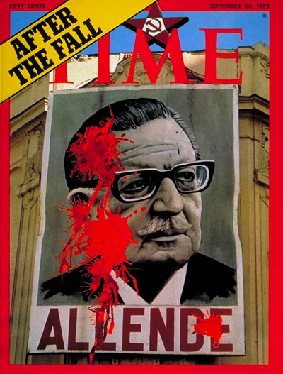 Deposed President of Chile Salvador Allende