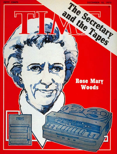 TIME Magazine Cover: Rose Mary Woods -- Dec. 10, 1973