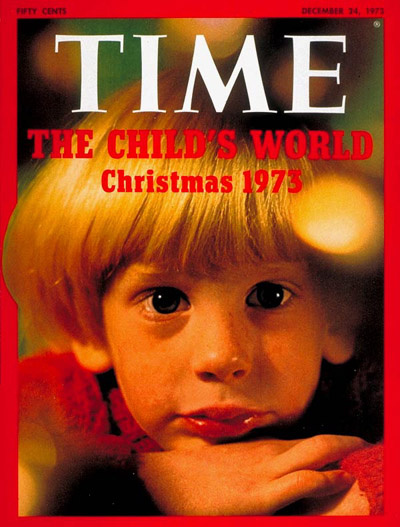 TIME Magazine Cover: The Child's World: Christmas 1973 -- Dec. 24, 1973