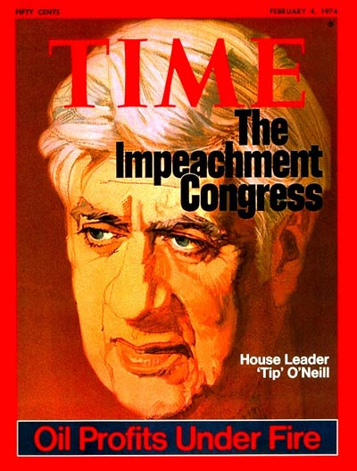 TIME Magazine Cover: Thomas P O'Neill Jr. -- Feb. 4, 1974