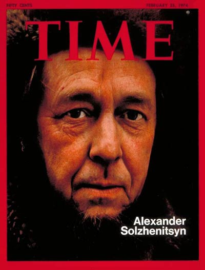 TIME Magazine Cover: Alexander Solzhenitsyn -- Feb. 25, 1974