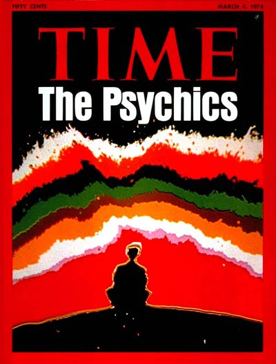 TIME Magazine Cover: The Psychics -- Mar. 4, 1974