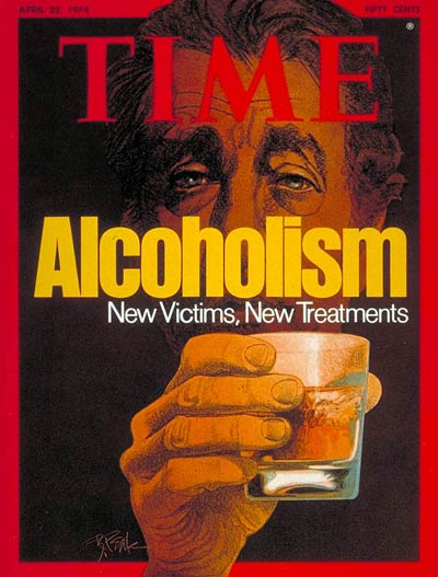 TIME Magazine Cover: Alcoholism -- Apr. 22, 1974
