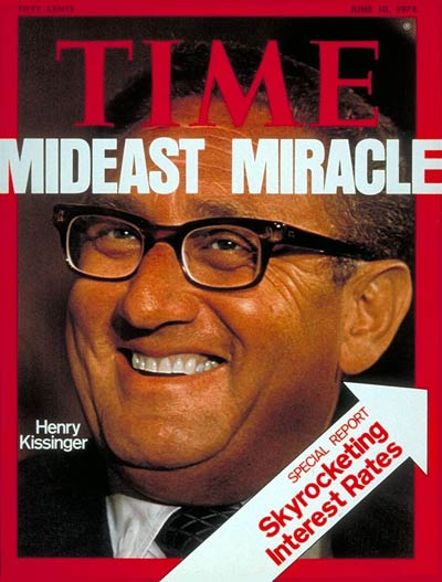 Time Magazine Cover Henry Kissinger June 10 1974