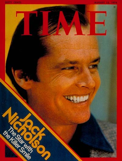 TIME Magazine Cover: Jack Nicholson -- Aug. 12, 1974