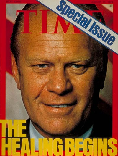 TIME Magazine Cover: Gerald Ford -- Aug. 19, 1974