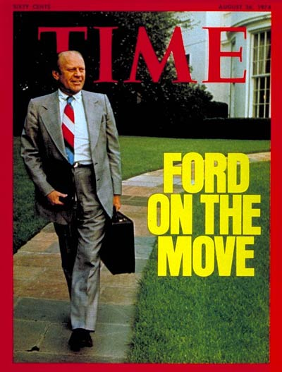 TIME Magazine Cover: Gerald Ford -- Aug. 26, 1974
