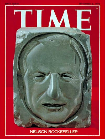 TIME Magazine Cover: Nelson Rockefeller -- Sep. 2, 1974