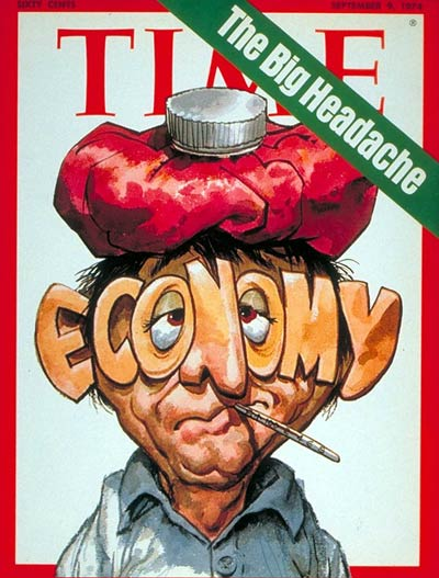 TIME Magazine Cover: The Economy -- Sep. 9, 1974
