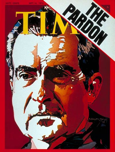 TIME Magazine Cover: Richard Nixon -- Sep. 16, 1974