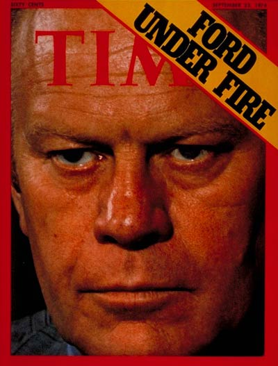 TIME Magazine Cover: Gerald Ford -- Sep. 23, 1974