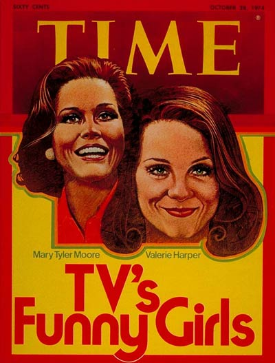 TIME Magazine Cover: Mary Tyler Moore and Valerie Harper -- Oct. 28, 1974