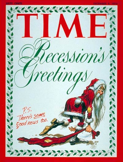 TIME Magazine Cover: The Recession -- Dec. 9, 1974