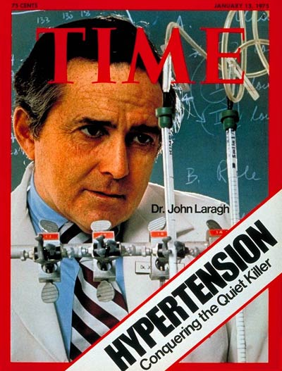 TIME Magazine Cover: Dr.  John Laragh -- Jan. 13, 1975